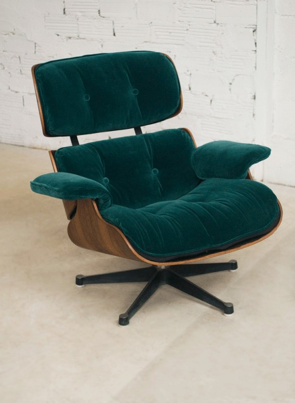 Fauteuil Année 50 Charles Eames, Lounge Chair, Fauteuil Charles Eames