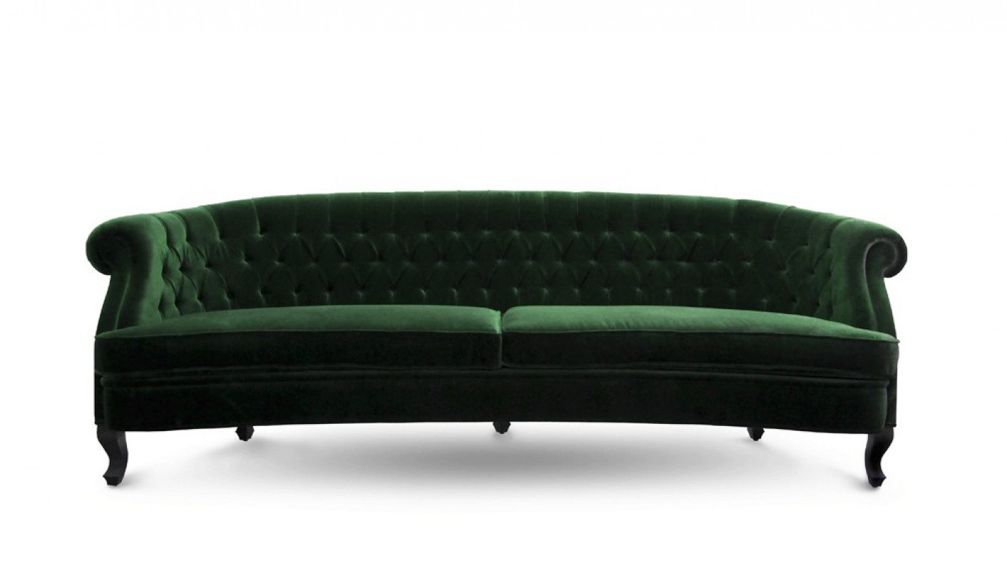 Canape Sofa Bette Sofa Laurel Green
