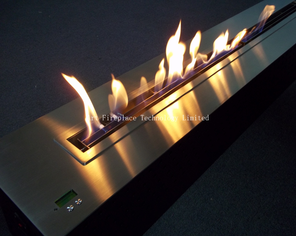 Insert De Cheminée Bioéthanol Ethanol Fireplace With Remote Ethanol Burner Insert Art Fireplace