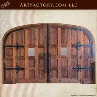 Wooden Doors Custom Built - Wood Wine Cellar Doors For ...