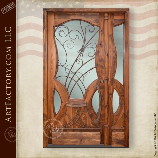 Designer Sofas Usa Custom Art Nouveau Door: Jules Lavirotte Inspired Design