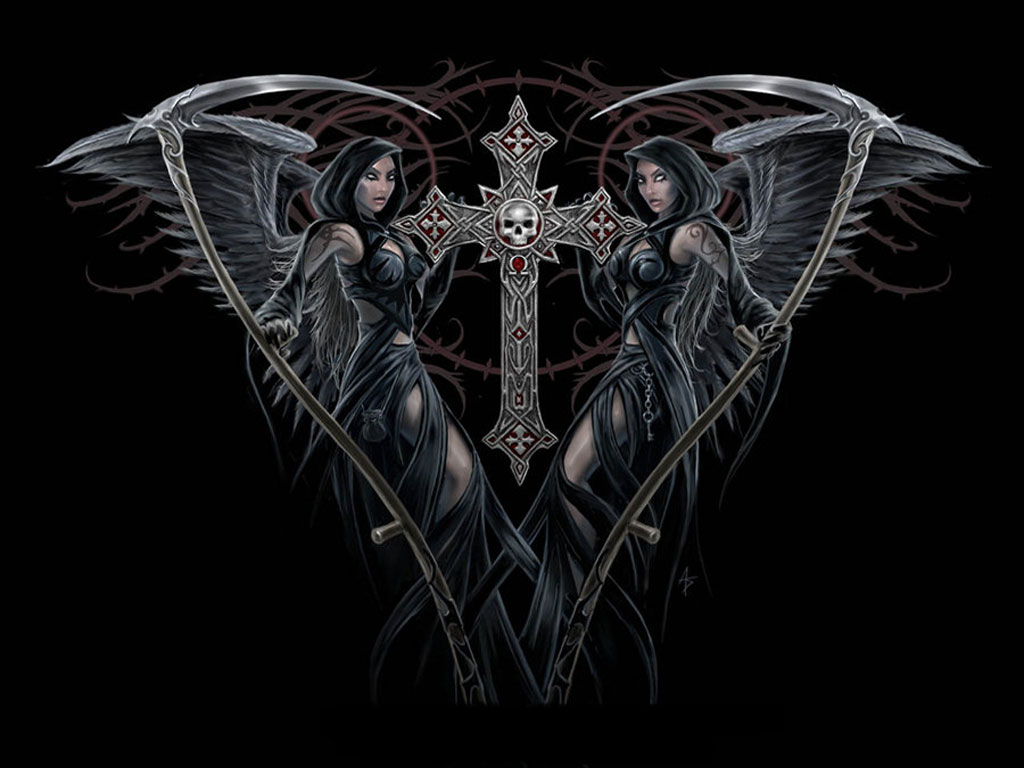 Gotico Pinterest Angels Of Death Art Id 38191 Art Abyss