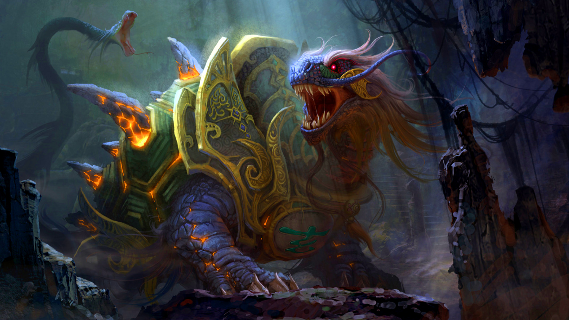 Fantasy World Art Dragon Dragon Turtle Art Id 52051 Art Abyss