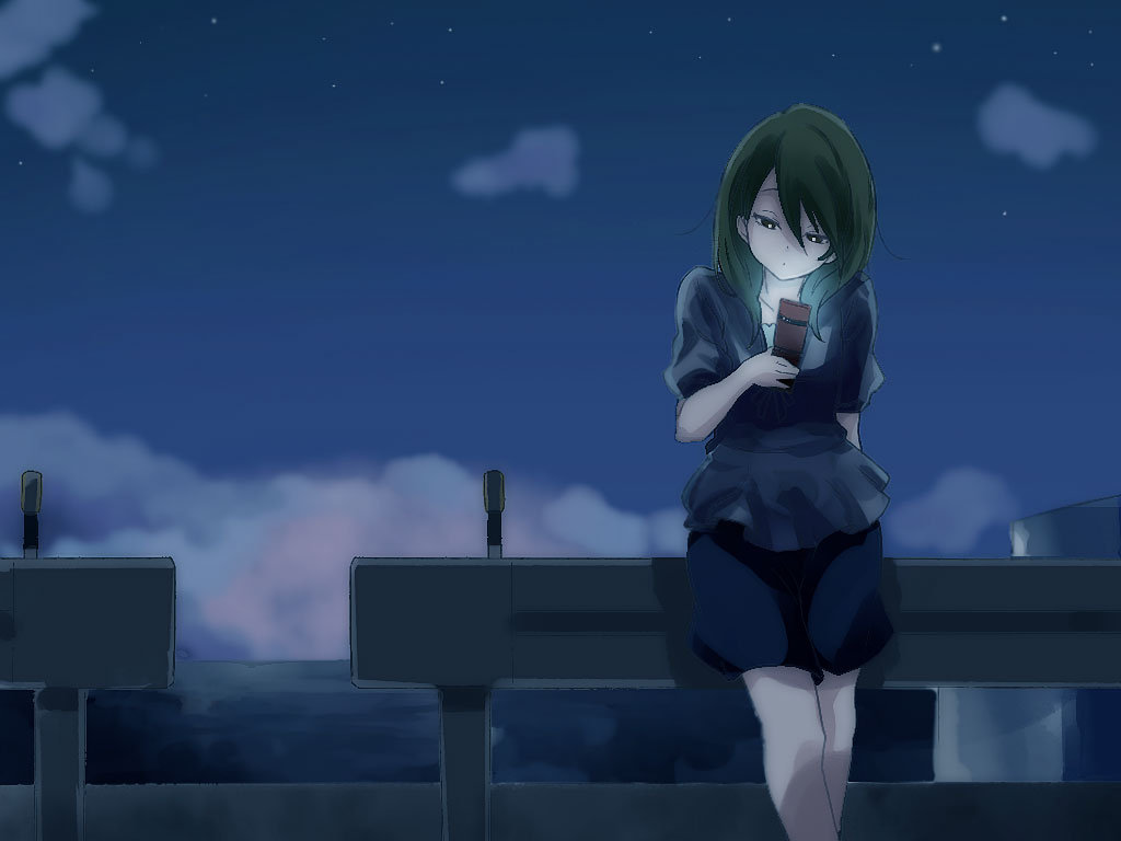 Lonely Little Girl Wallpapers Loneliness Art Id 6195 Art Abyss