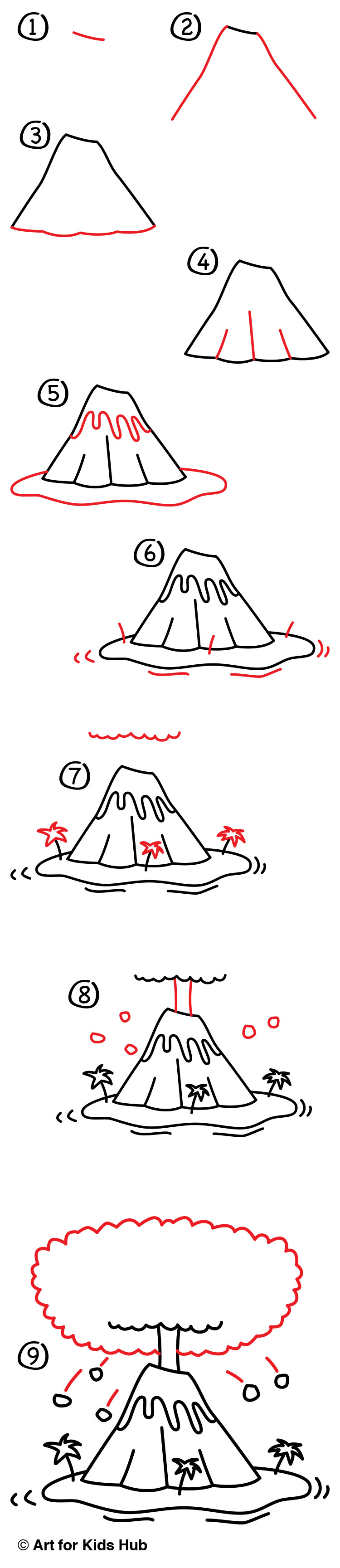 Toy Story Toys Everywhere How To Draw A Volcano