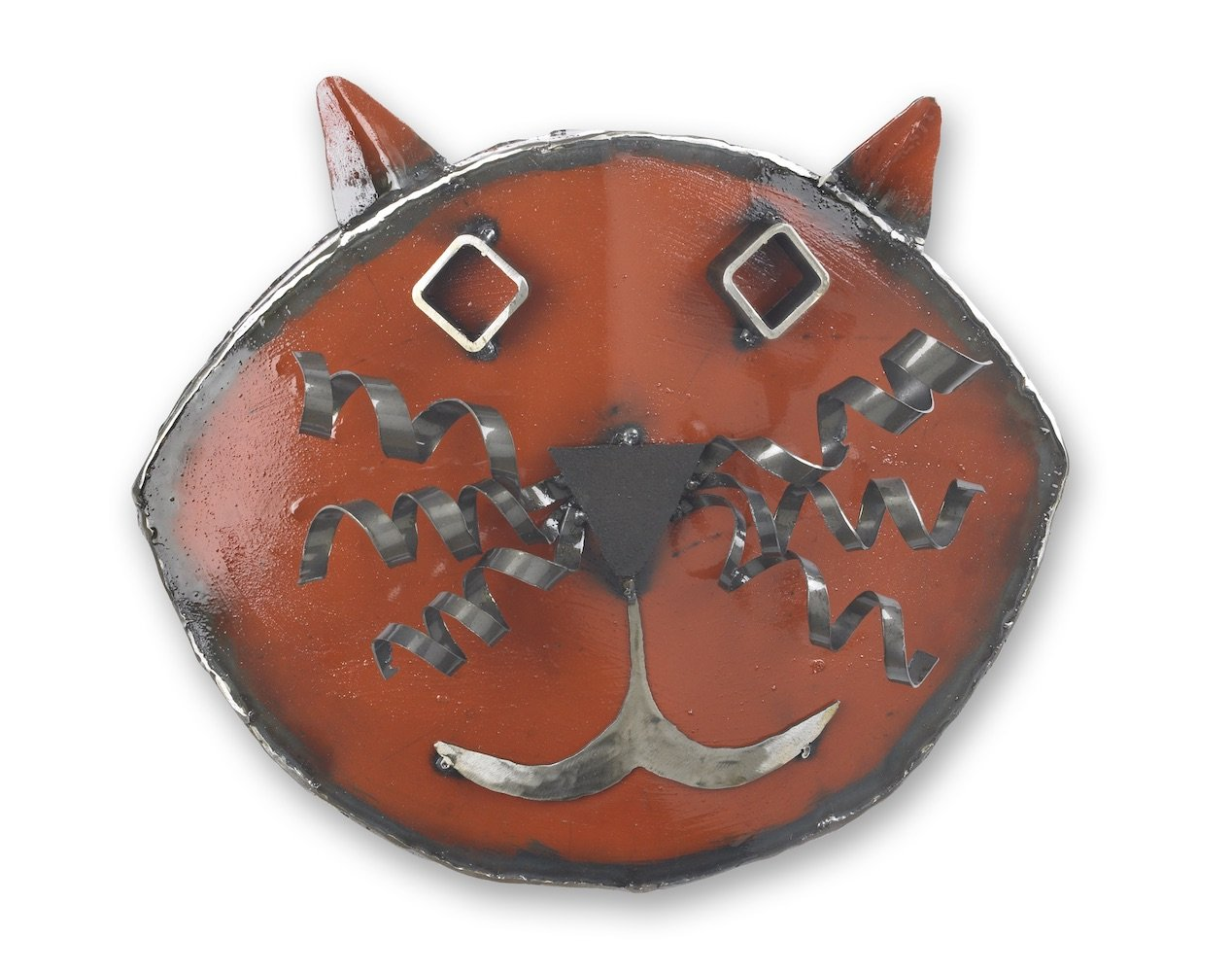 Cat Wall Art Metal Cat Wall Sculpture By Ben Gatski And Kate Gatski Metal