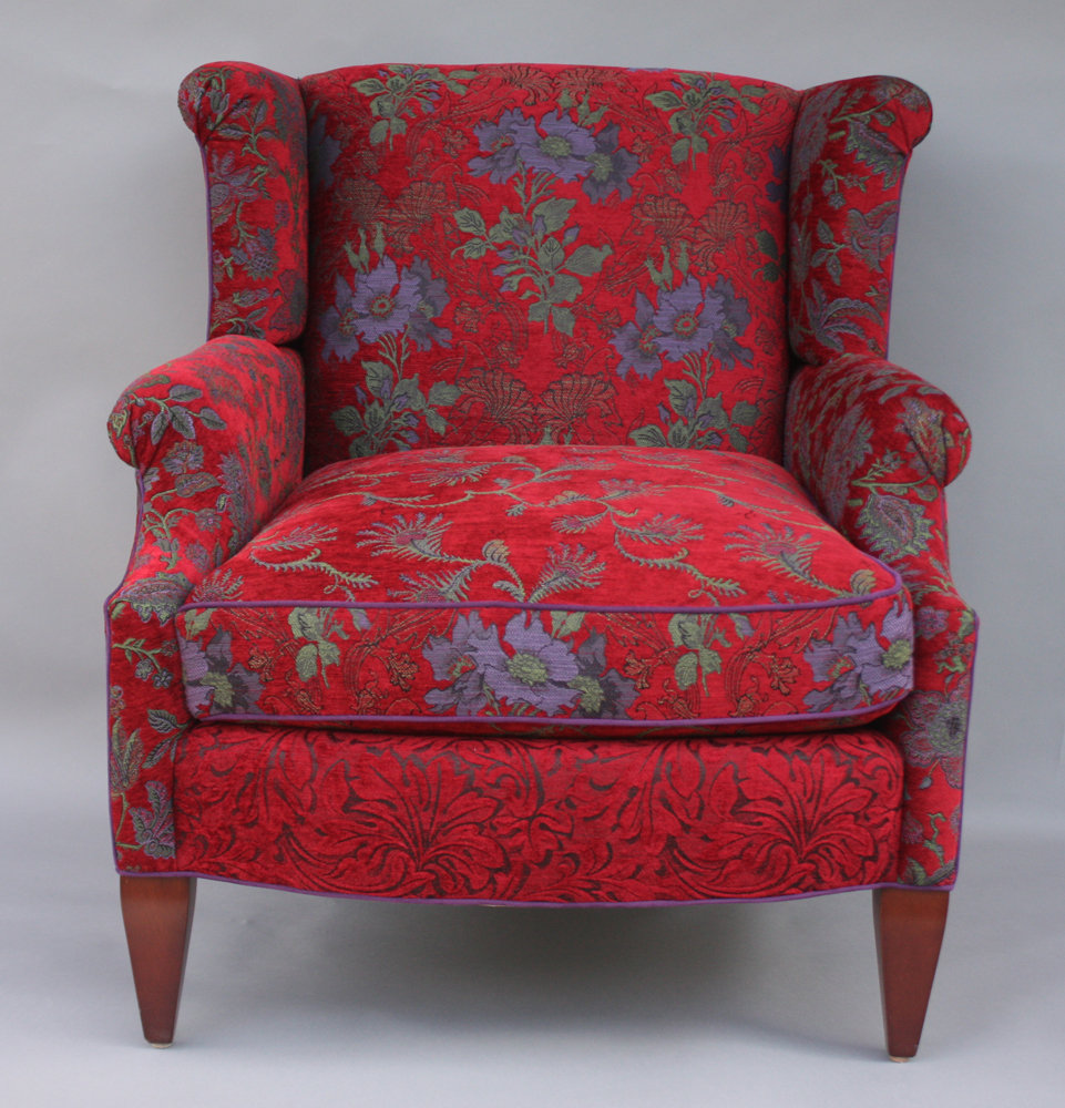 Sessel Gepolstert Isabel Chair In Poppy By Mary Lynn O'shea (upholstered
