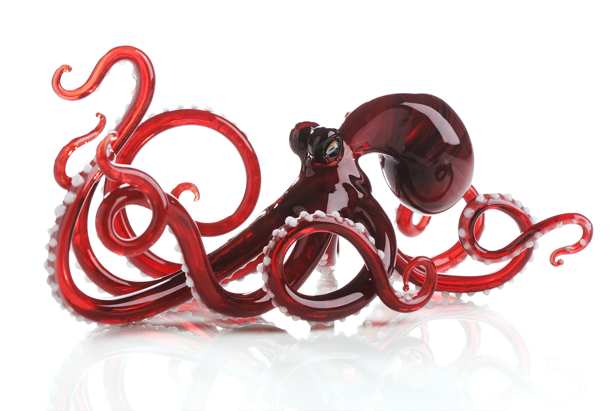 Octopus Glasses Octopus In Red By Jennifer Caldwell And Jason Chakravarty