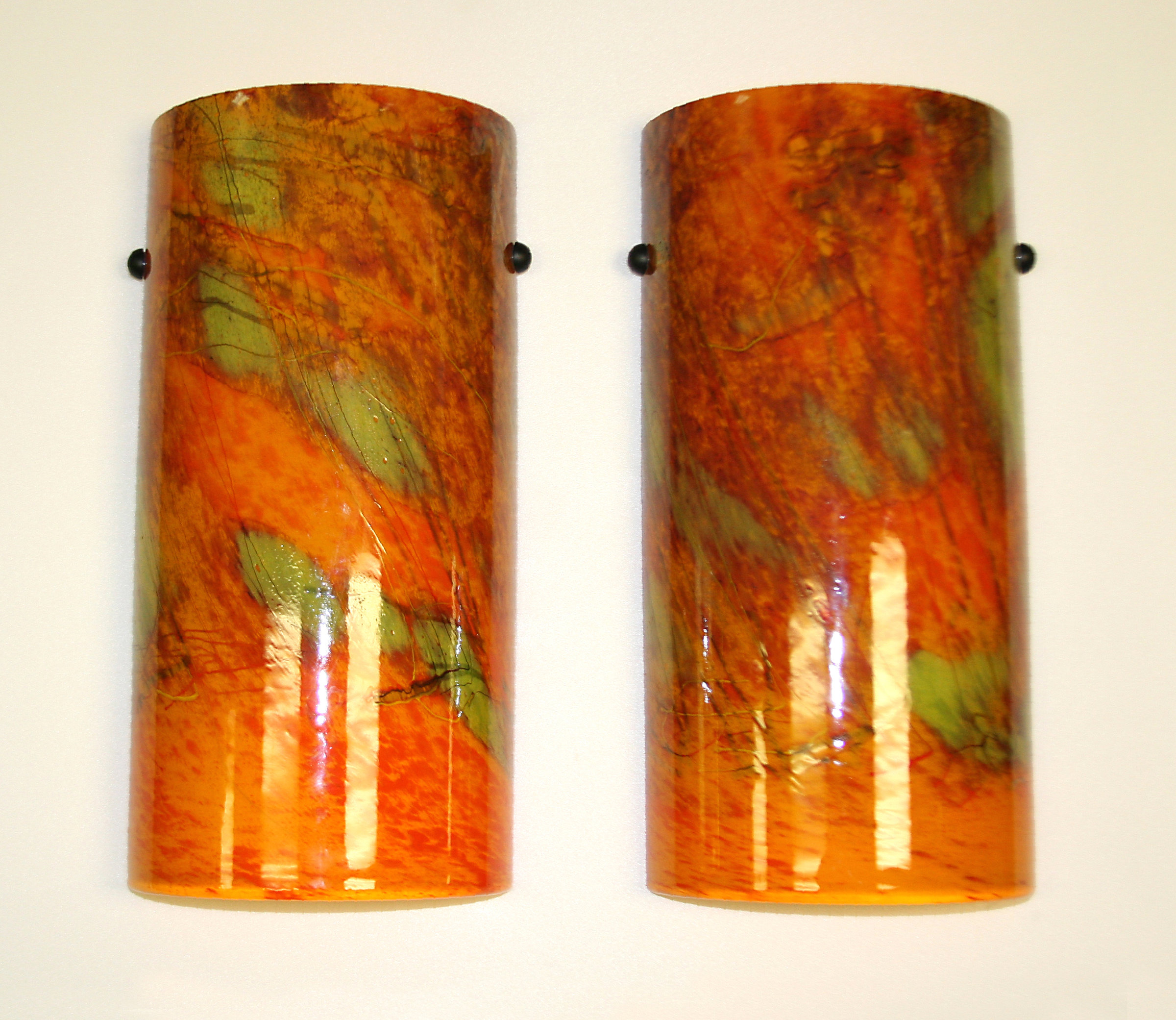 Art Glass Wall Sconce Tuscany Sconce By Joel And Candace Bless Art Glass Sconce