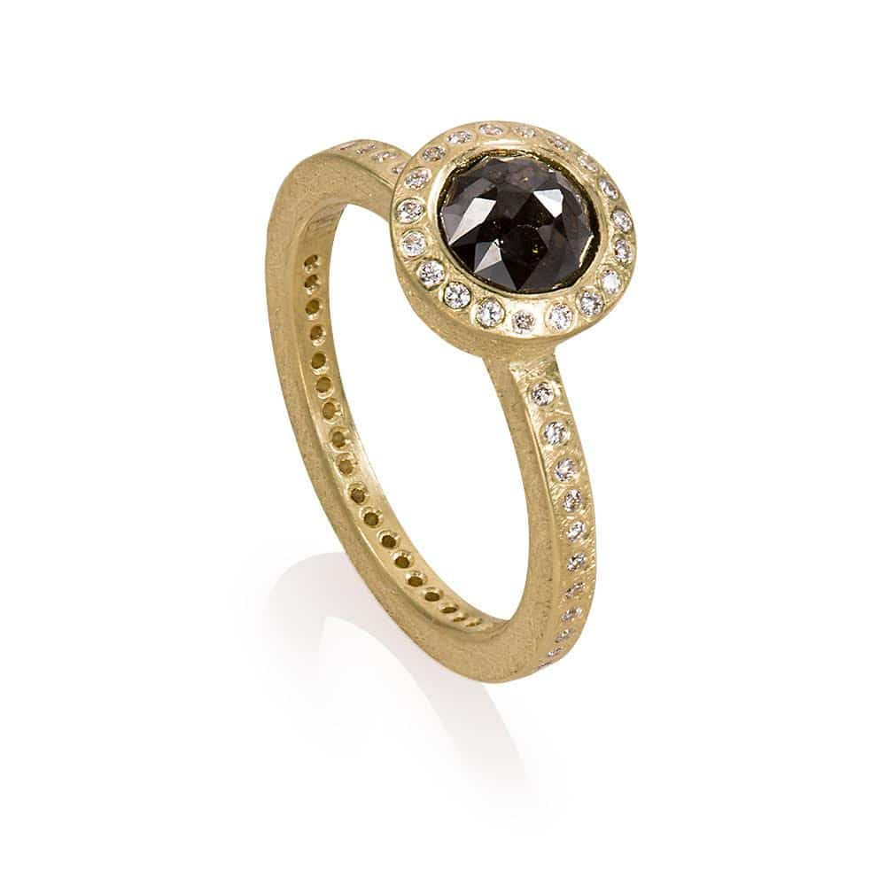 Black Diamond R481390 Black Diamond Ring