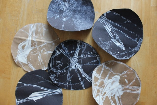 Marble Rolling Spiderwebs