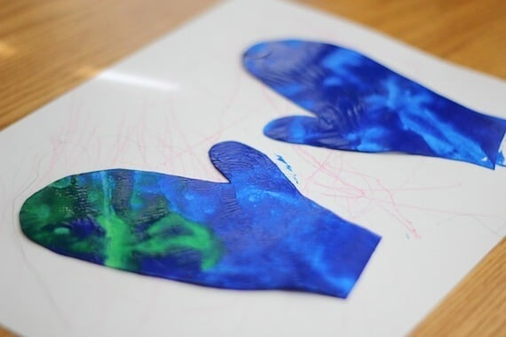 Winter Art Activity for Toddlers