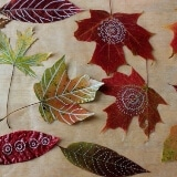 Doodle and Draw on Autumn Leaves with Sharpies