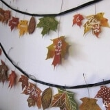 Thanksgiving Leaf Garland