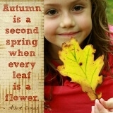 Autumn is a Second Spring quote