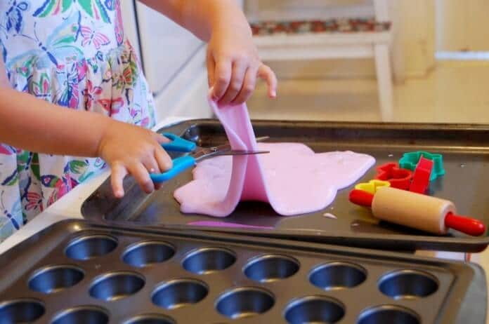 8 Sensory Activities to Fill the Witching Hour - playdough