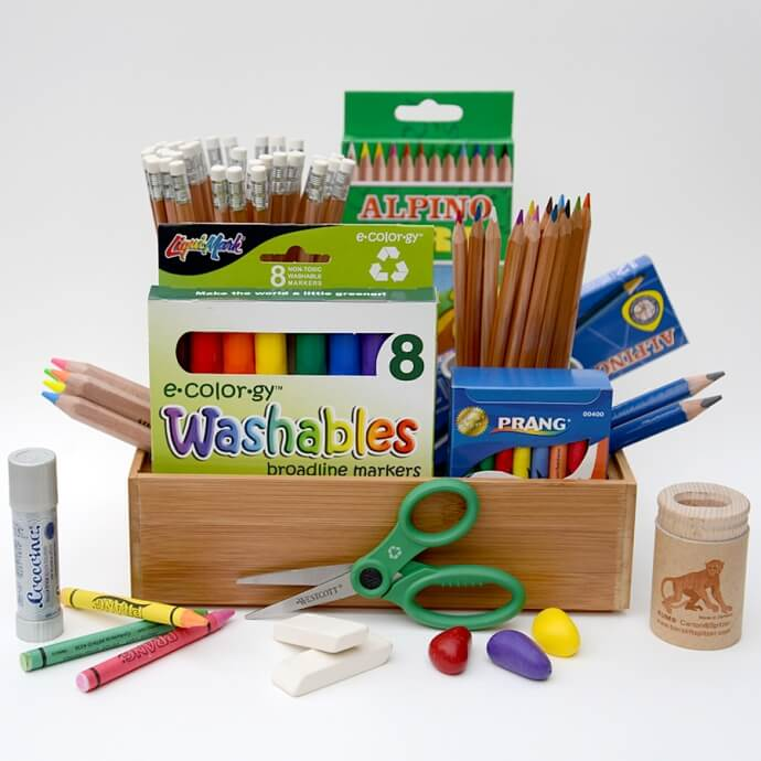 Back to School Supplies Giveaway Box by Stubby Pencil Studio!