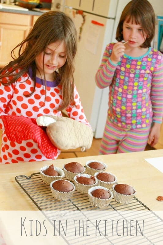 Kids in the Kitchen -- Baking up a Mystery Chocolate Dessert
