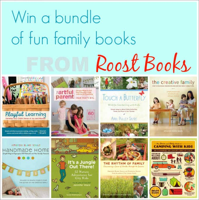 Win a Set of Fun Family Books by Roost Books