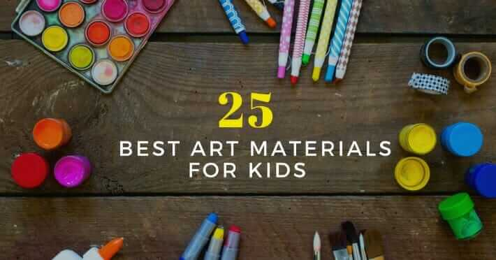 The 25 Best Kids Art Materials And Where To Buy Them