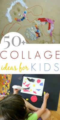 50+ Collage Art Ideas for Kids - The Artful Parent