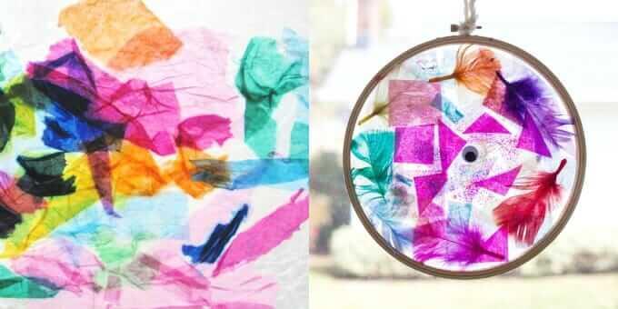 50 Suncatcher Crafts Kids Can Make The Artful Parent