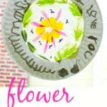 Flower Suncatcher :: A Flower Mandala Kids Can Make