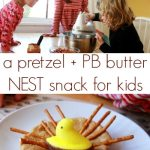 Pretzel Nests :: Creative Easter Snacks for Kids
