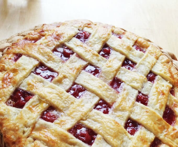 The Best Cherry Pie Made with Canned Tart Cherries