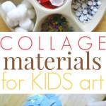 Collage Materials and Supplies