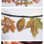 How to Make A Beautiful Fall Leaf Garland