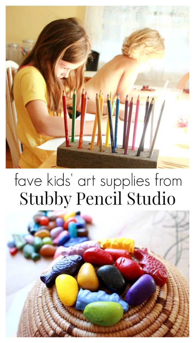 Our Favorite Kids Art Supplies from Stubby Pencil Studio