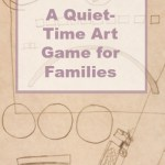 Quiet-time art game for children