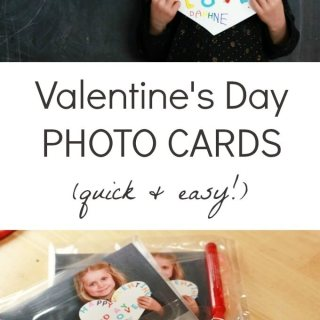 Valentines Day Photo Cards for Kids