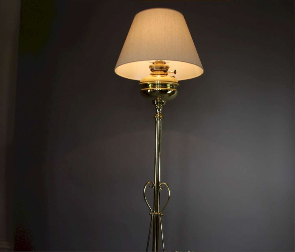 Standard Floor Lamps Victorian Brass Standard Floor Lamp Lighting Art Furniture