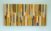 Modern wood art, Mid century wood wall art, new sculpture ...