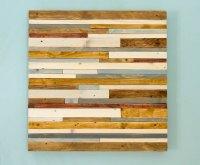 Reclaimed Wood wall Art, Industrial wall Art reclaimed ...