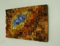 "Reclaimed wood wall art, Rustic wall art ""The Northern ..."