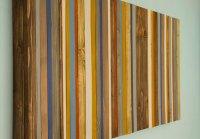 Reclaimed Wood Wall Art  Rustic Wood Decor, Modern wood ...