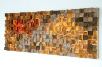 Rustic Wood wall Art, wood wall sculpture, abstract wood ...