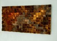 Wood Wall Art, set of 4, wood wall art, large art ...