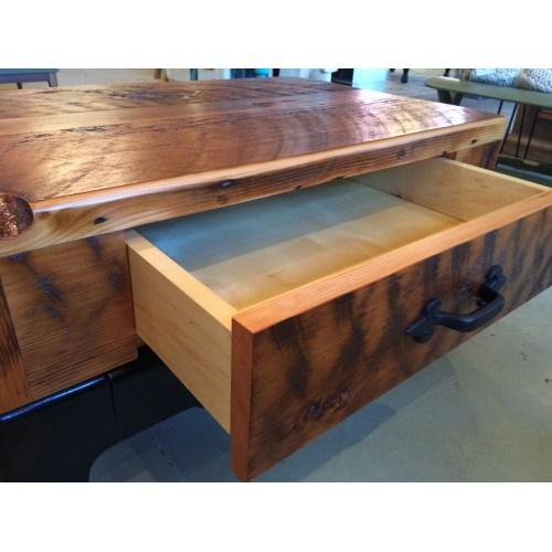 Medium Crop Of Reclaimed Wood Coffee Table