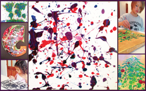 Artist Jackson Pollock Inspired