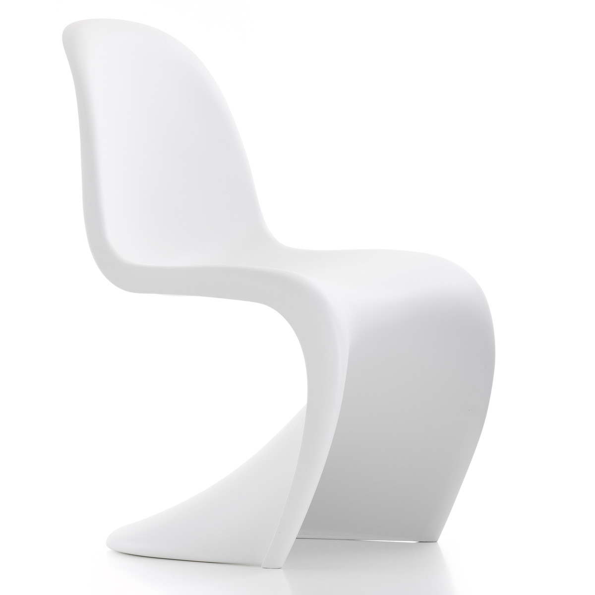 Eames Chair Weiß Panton-chair-weiss-frontal - Arthur Holm