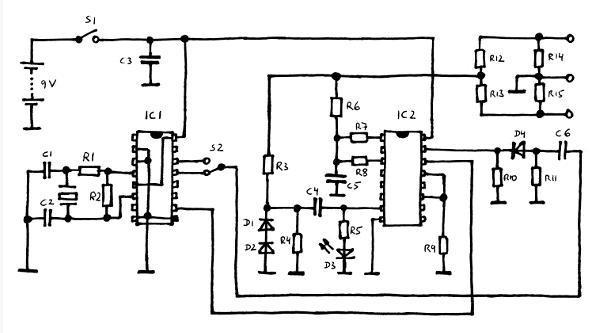 ecg simulator circuit