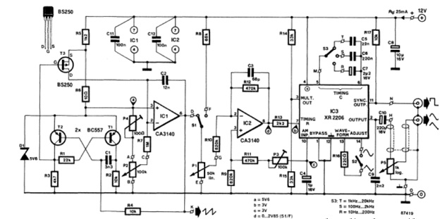 geophone detector circuit