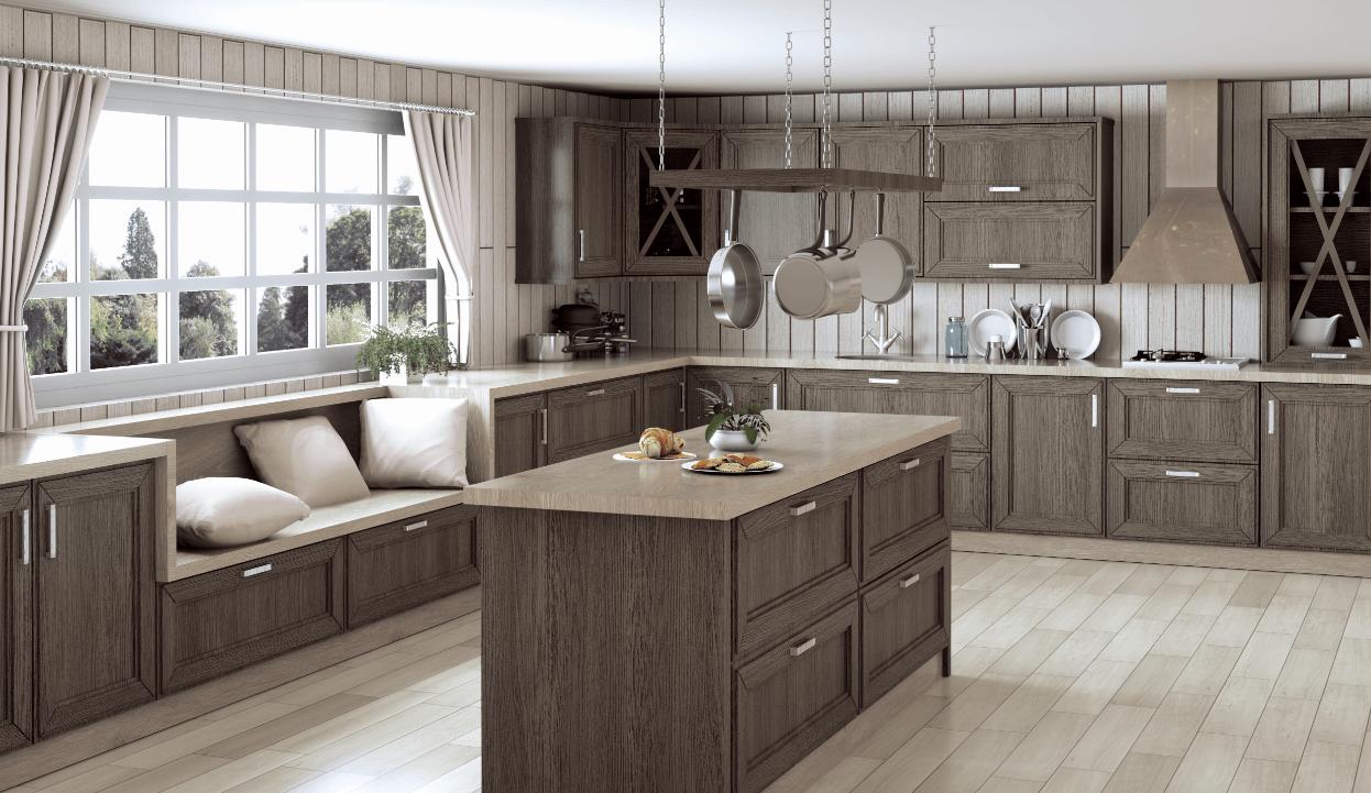 Cocinas de madera cocilady cocinas dise o de cocinas en madrid - Cocinas de diseno en sevilla ...
