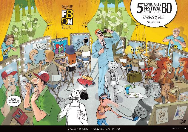 Source: site web du Festival BD de Montréal