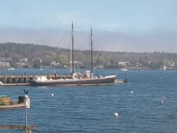 Sherman Zwicker in Boothbay, Maine