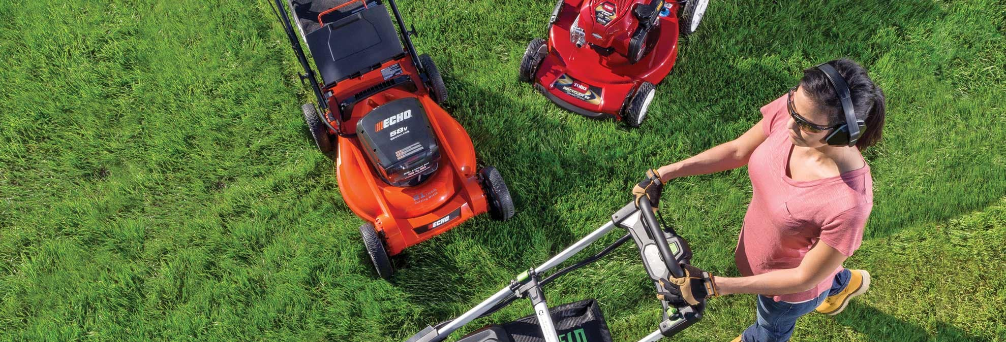 Electric Lawn Mower Sale Electric Lawn Mowers That Rival Gas Models Consumer Reports